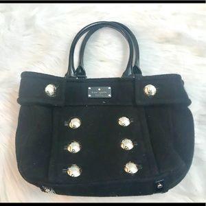 Kate Spade wool leather handbag